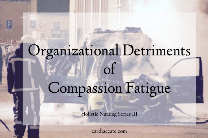 Organizational Detriments of Compassion Fatigue