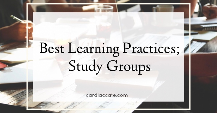 Best Learning Practices; Study Groups