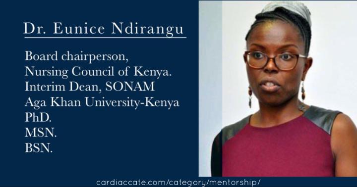 Exemplary Women in Nursing July 2019: Dr EuniceNdirangu